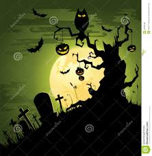 black cat halloween background creepy green halloween background royalty free stock photos