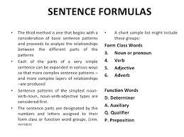 sentence pattern in english grammar analysis of english syntax