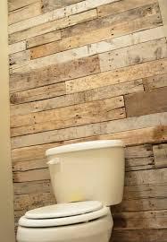 Bathroom Accent Wall Ideas Colors Diy Tutorial Pallet Bathroom Wall Pallet Bathroom Bathroom