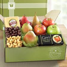 fruit gift boxes cheese and fruit a gift inside