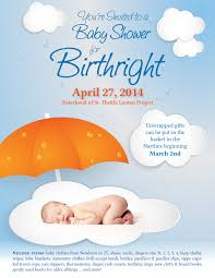 baby shower for birthright