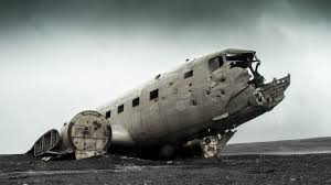 free stock photo of abandoned airplane apocalypse