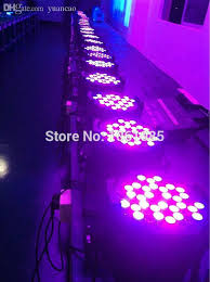 whole flight case 8pcs lot led par light 54 3w rgbw led par64 light dj led par 64 dmx512 stage par can light dmx stage light