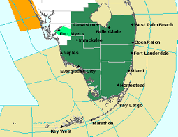 Key Largo Florida Map by South Florida Bracing For Heavy Rain From Tropical Wave Miami Herald