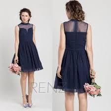 bridesmaid dresses 2015 2015 new navy blue bridesmaid dresses cheap see through