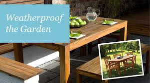 How To Protect Outdoor Wood Furniture by Weatherproof The Garden Sadolin
