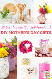 mothers day gift ideas 20 last minute but still fabulous diy mother u0027s day gift ideas