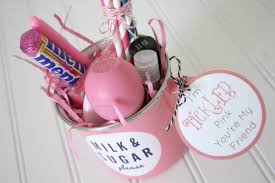 tickled pink gift idea anchored