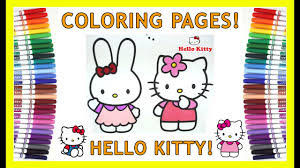 hello kitty coloring pages sanrio hello kitty my melody and