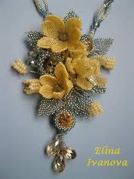 flower bead necklace images 593 best beaded flowers images bead weaving beaded jpg