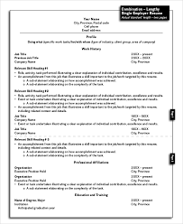 Accomplishment Statements For Resume Sample Resume Layout 8 Examples In Word Pdf