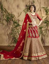 bridal wear maroon designer wear indian bridal wear lengha choli in net