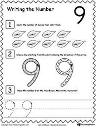 learn to count and write number 6 kindergarten count and learning