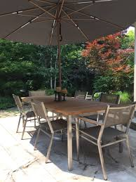 Patio Umbrella Table And Chairs by Patio Furniture U2014 Sign Of The Skier