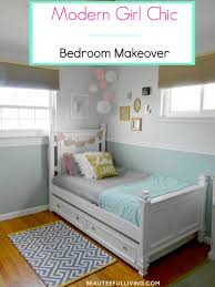 girls room makeover final reveal u2013 one room challenge beauteeful