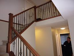 Wooden Stair Banisters Wood Stair Rails U2014 New Decoration Custom Stair Rails Ideas