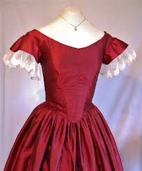 the story of a seamstress a victorian christmas ballgown