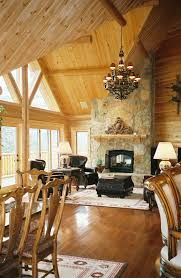 cedar log homes home interiors