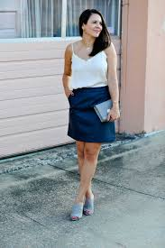 Leather And Lace Clothing Little Lace Tank And Leather Skirt My Style Vita