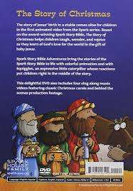 amazon com the story of christmas spark story bible adventures