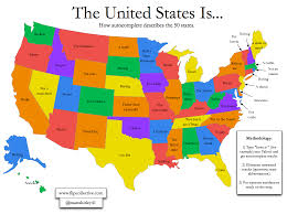 Us State Abbreviations Map Wyoming Is Not Real