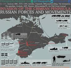 Map Of Ukraine And Crimea Invasion Of The Crimean Peninsula