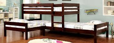 Just Bunk Beds Affordable Wood  Metal Bunk Beds For Sale - Triple bunk beds with mattress