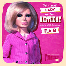 thunderbirds lady penelope birthday card