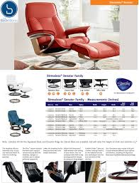 ekornes stressless governor and senator recliner chair lounger