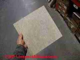 floor tiles that may contain asbestos history components of