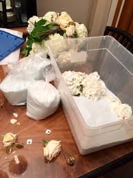 Fresh Cut Flower Preservative by Use Silica Gel From Michaels To Preserve Wedding Bouquet Looking