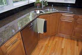 kitchen corner kitchen sink design with rectangular stainless