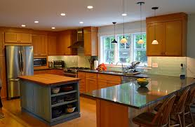 Kitchen Peninsula With Seating by Guest Blogger Gail O U0027rourke New England Home Magazine