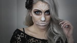 halloween sugar skull youtube