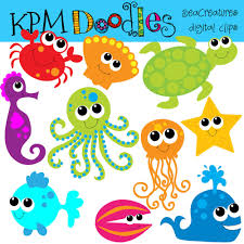 cute ocean animals clipart clip art library