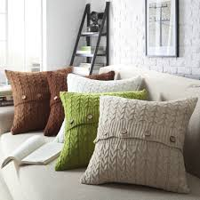 Patterns For Knitted Cushion Covers Online Get Cheap Wool Pillow Covers Aliexpress Com Alibaba Group