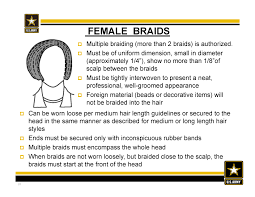 air force female hair standards new army hair regulations ar 670 1 as of 31 march 2014 braids