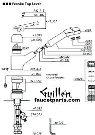 kohler kitchen faucet parts diagram kitchen faucet parts diagram dayri me