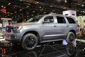 suv toyota sequoia toyota gives its sequoia suv the trd treatment autoguide com news