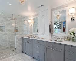 grey and white bathroom ideas traditional grey and white bathroom in 17 classic gray bathrooms