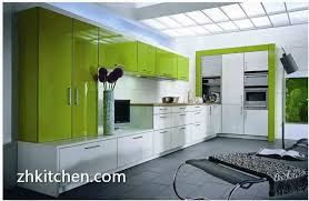 Made In China Kitchen Cabinets by Fresh Green Acrylic Kitchen Cabinets Design Made In China