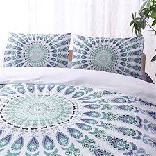 mandala floral boho bedding bohemian bedding duvet cover set twin  with mandala floral boho bedding bohemian bedding duvet cover set twin floral  a from aluxurybedcom