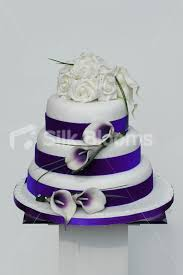 shop lilac picasso lily u0026 ivory rose wrapping wedding cake topper
