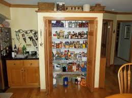 Kitchen Cabinet Systems Magnetic Tall Oak Kitchen Pantry With White Wire Adjustable Pantry