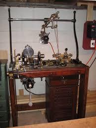 9286 385 antique holtzapffel ornamental turning lathe circa 1881