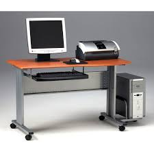 Mobile Computer Desks Workstations Fancy Mobile Computer Desk Luxor Mobile Stand Up Desk Computer