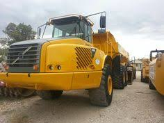 volvo haul trucks for sale volvo a40d articulated dump truck yellow iron pinterest dump