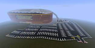Gillette Stadium Floor Plan by Gillette Stadium In Sport City Minecraft Project