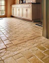 charming ceramic tile designs for kitchen floors including floor
