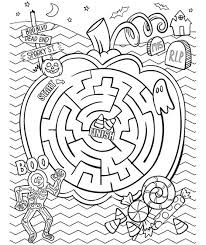 crayola halloween coloring pages halloween maze coloring page crayola com
